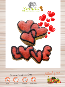 Cookies San Valentín