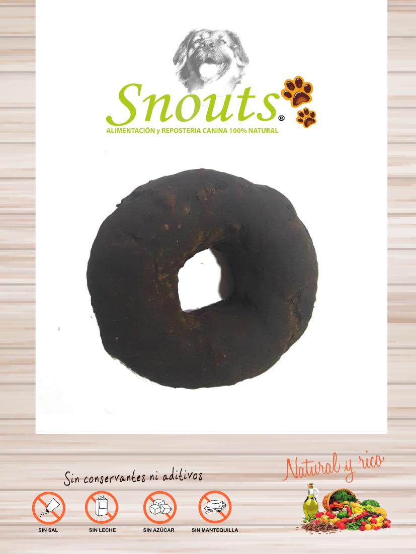 Dognuts de algarroba